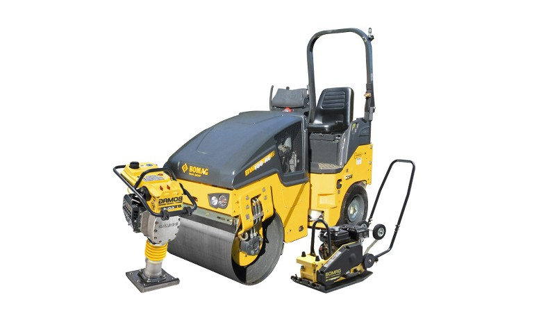 Compatage Bomag